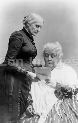 Susan B. Anthony and Elizabeth Cady Stanton