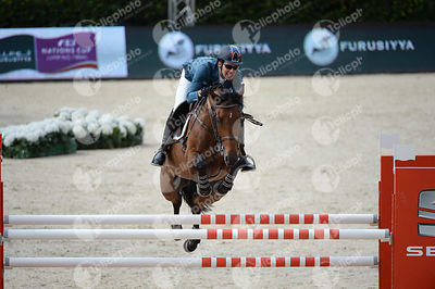 Emanuel ANDRADE ,(VEN), BONJOVI during Negrita Trofey competition at CSIO5* Barcelona at Real Club de Polo, Barcelona - Spain