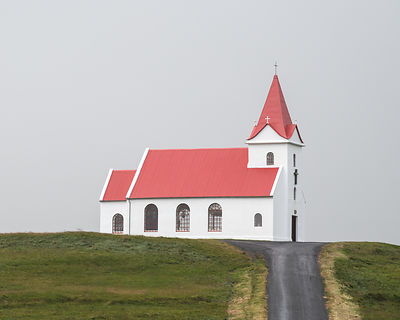 INGJALDSHÓLL CHURCH IN ICELAND