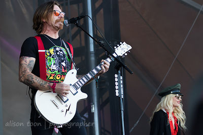Jesse Hughes, vocals, Eagles of Death Metal