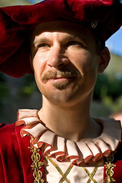 Hungary - Pecs - A man in traditional Hungarian folk costume