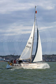 Round the Island Race 2016, Heritage, GBR4428, Sigma 33, 20160702912