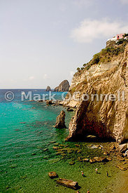 Ponza Cliffs Italy