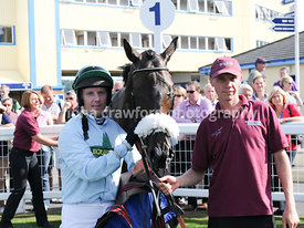 3.50pm 1st Sept 2013 Handicap Steeple Chase with winner Western King