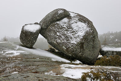 Granite formations at the Serra da Estrela Natural Park, Portugal