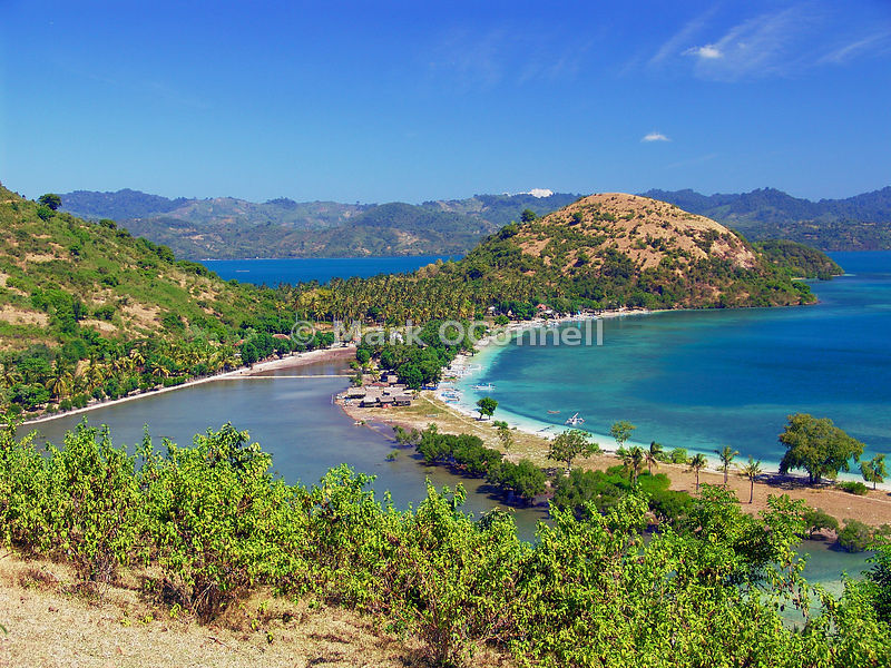 Bay in Lombok Indonesia