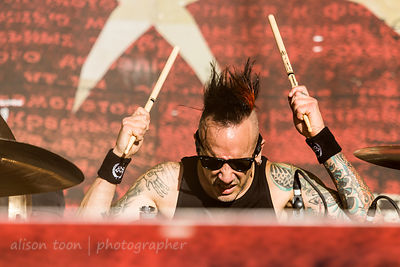 Roy Mayorga, drums, Stone Sour
