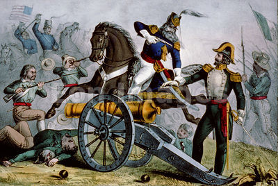 Capture of De La Vega at Resaca de la Palma