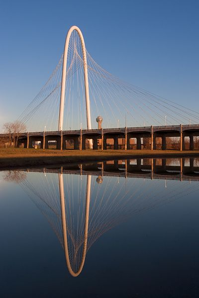 Margaret Hunt Hill Bridge Reflections #4