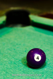 purple billiard ball