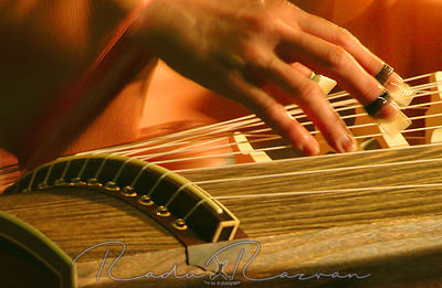 Hand Playing Koto