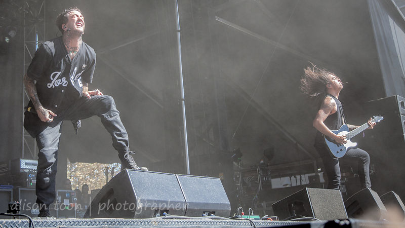 Austin Carlile and Philip Manansala, Of Mice and Men, Aftershock 2014