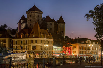 Summer twilight - Annecy
