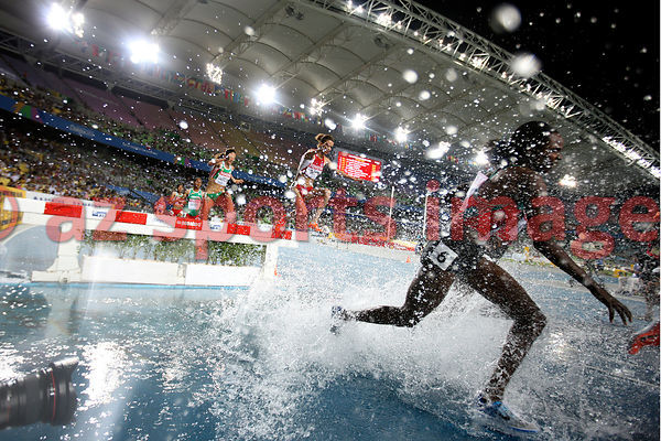 Russia Yuliya Zaripova in action during Women's 3000M Steeplechase