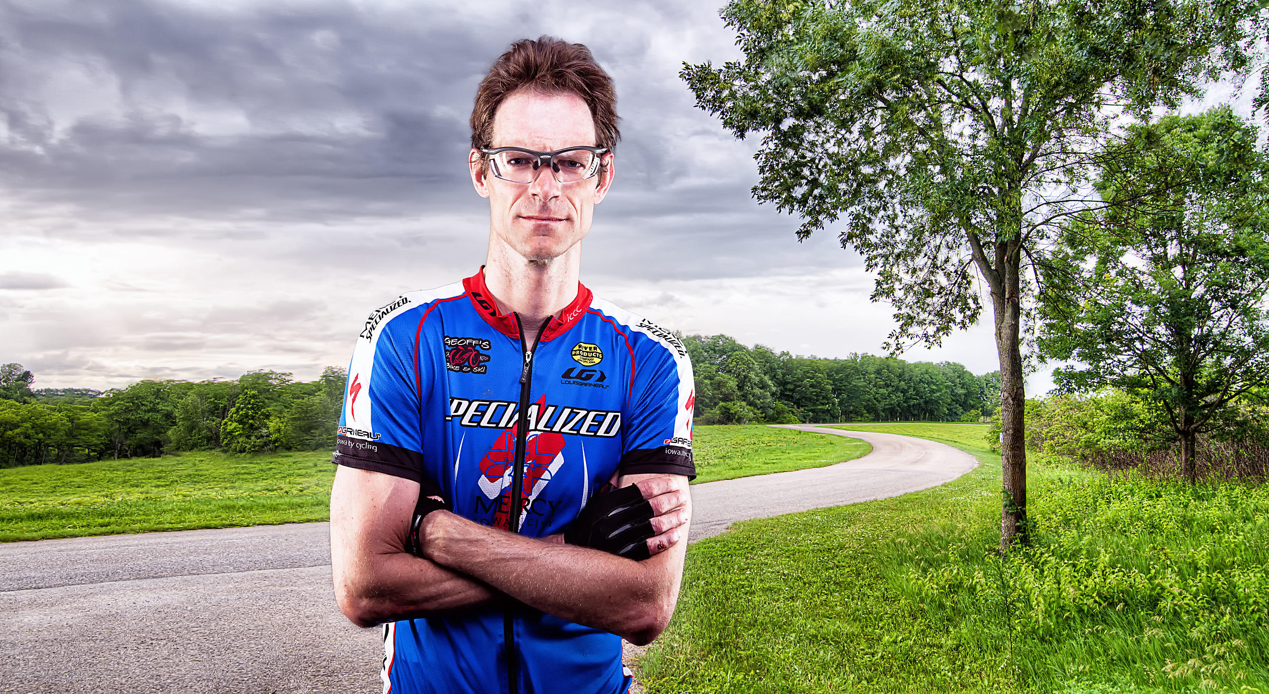 Iowa City Cycling Club Portrait Series photos