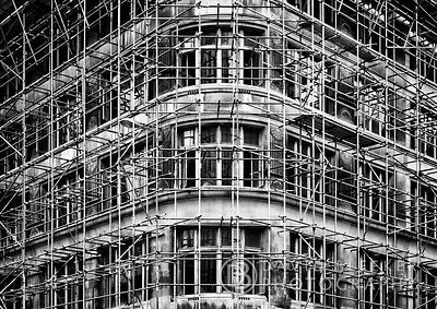 Staple Hall in Scaffolding - Last View
