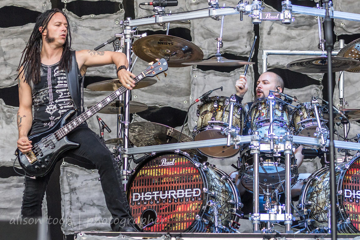 John Moyer and Mike Wengren, Disturbed