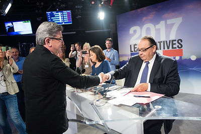 Debat legislative Marseille - 4eme circonscription des Bouches du Rhone