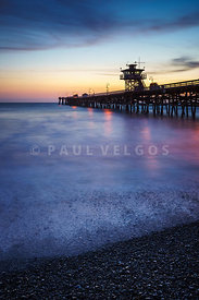 California San Clemente Pier at Sunset Picture
