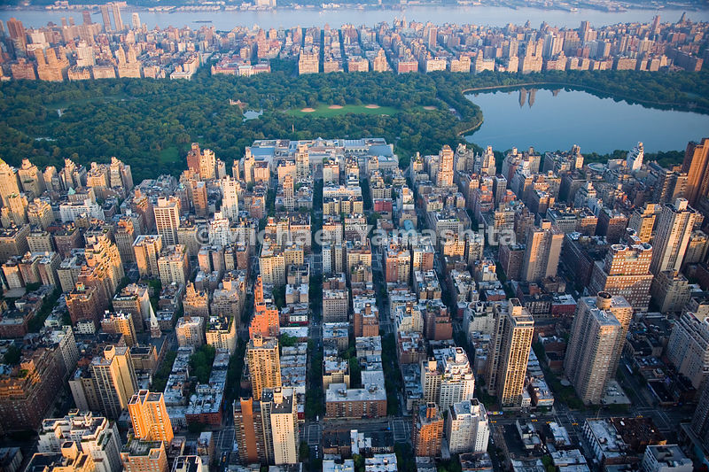 Proximity to Central park is part of what has made the Upper East Side a desirable and exclusive residential neighborhood.  Manhattan, New York City.