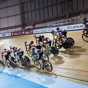 Junior Men Elimination Race, 2017/2018 Track Ontario Cup #1, Mattamy National Cycling Centre, Milton On, December 10, 2017