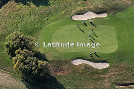 Putting Green In Golf Course, Tumiac