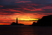 St. Mary's Lighthouse Sunrise.