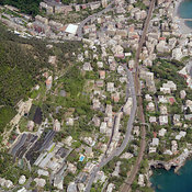 Bogliasco aerial photos