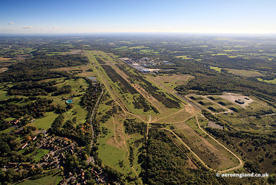 RAF Greenham Common  Berkshire aerial photograph