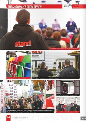 Stand Out magazine - November 2015 - Showman's Show - page 64