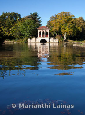 Birkenhead Park boathouse (portrait)