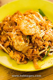 penang char kway teow, asian food