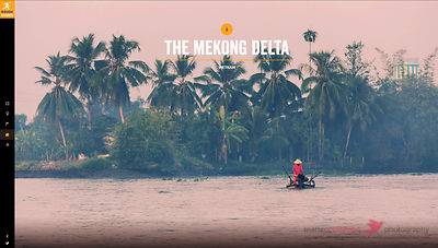 Rough Guides website - Mekong Delta Vietnam
