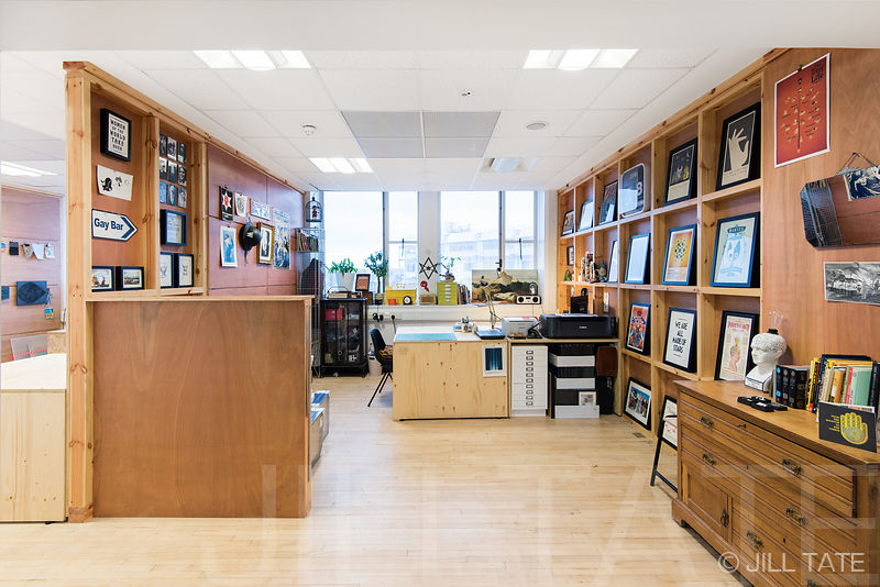 Dek Catford Artists studios | Client: Studio TILT