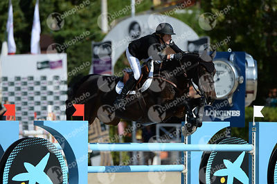 Angelie VON ESSEN ,(SWE), WEST FALICA during Coca-Cola Trofey competition at CSIO5* Barcelona at Real Club de Polo, Barcelona - Spain
