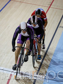 Men's team sprint qualification. 2014 Canadian Track Championships, January 3, 2015
