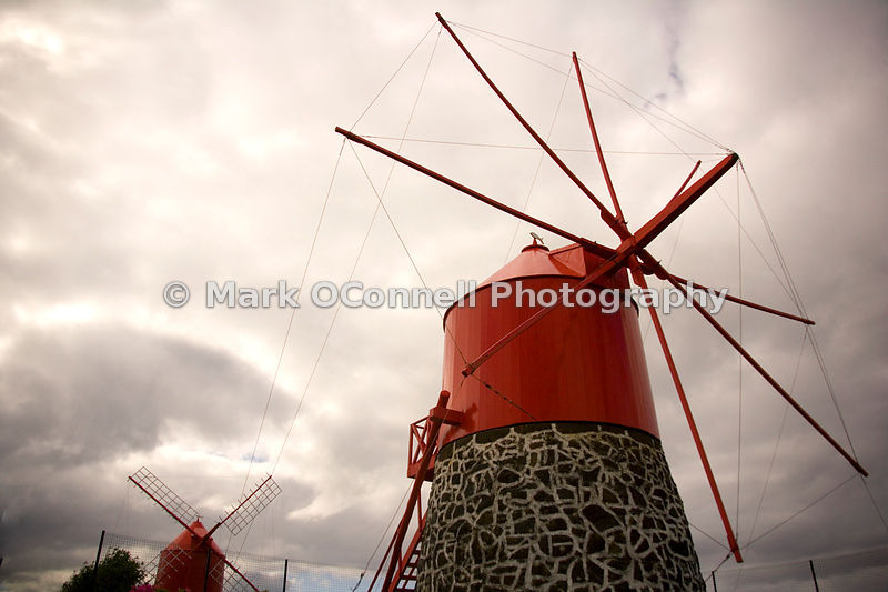 Wind Mills in the Azores