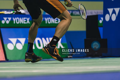YONEX-SUNRISE Hong Kong Badminton Open Men's Single Lee Chong Wei MYS v Son Wan Ho KOR at Hong Kong Coliseum on November 24, 2017. (Lampson Yip/Clicks Images)