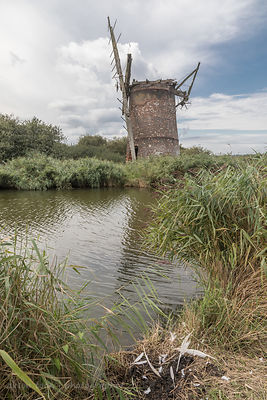 Brograve level drainage mill, Norfolk