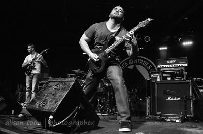 SACRAMENTO, CA - MAY 18: Journal, performing at the Ace of Spades, Sacramento CA, on May 18th 2013.