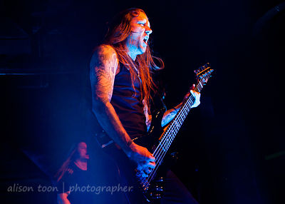 Ted Lundström, bass, Amon Amarth, Ace of Spades, Sacramento