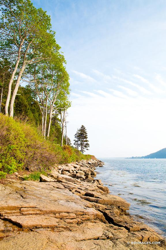 SOMES SOUND MT DESERT ISLAND ACADIA NATIONAL PARK MAINE