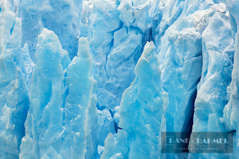 Glacier detail - South America, Argentina, Santa Cruz, Lago Argentino - digital