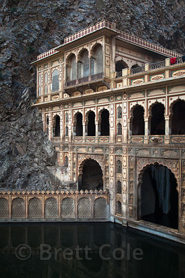 Galta Monkey Temple, Jaipur, Rajasthan, India