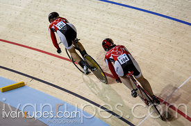 Women's team sprint qualification. 2014 Canadian Track Championships, January 3, 2015