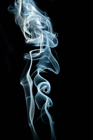 Face in the Smoke