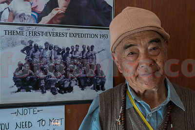 Kancha Sherpa - Last Survivor - Mt. Everest Expedition 1953 photos