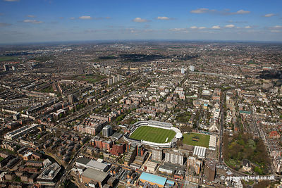 aerial photograph of St John's Wood London England UK