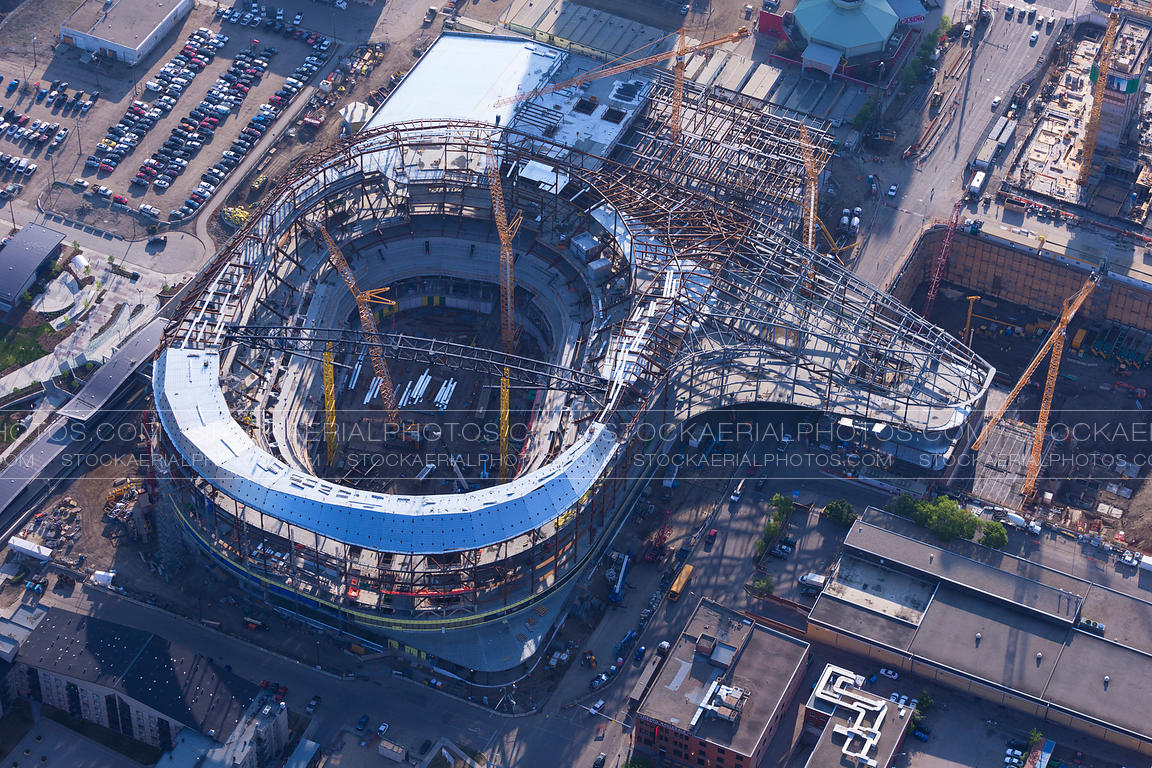 Aerial photo rogers place arena edmonton for Balcony 417 rogers arena