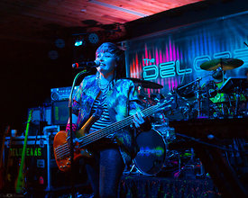 Deloreans 80's Band rocks the night at the new Boathouse Live